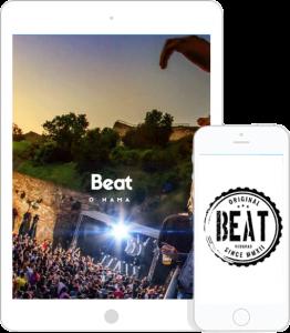 BEAT Beograd, Mobilni prikaz sajta