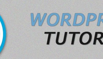 WordPress Tutorial Intro