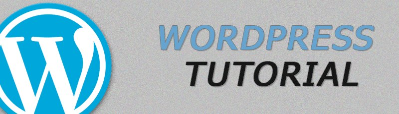 WordPress Tutorial Intro