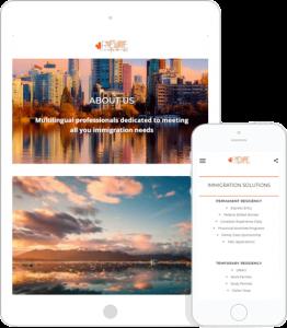 Rute Immigration Mobile Site