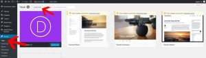 Instalacija WordPress Teme Preko Kontrolne Table